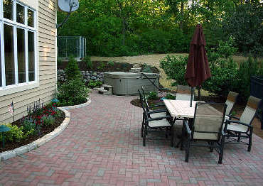 Patios, walkways and driveways